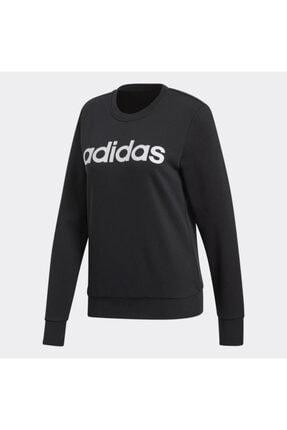 adidas Kadın siyah  Sweatshırt Dp2363 W E Lın Sweat 4