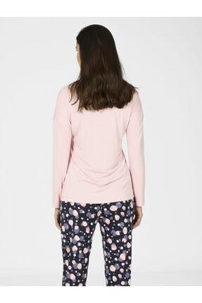 Nbb Kadın Yuvarlak Desen Pijama Takımı 67057 1