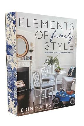 LYN HOME & DECOR Family Elements Dekoratif Kitap Kutu 0