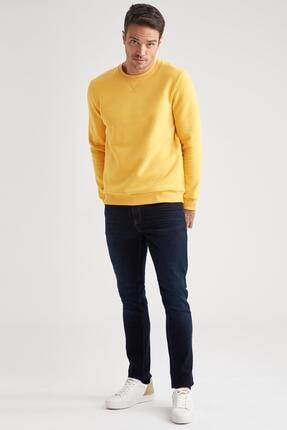 Defacto Bisiklet Yaka Regular Fit Basic Sweatshirt 1