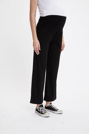 Defacto Ispanyol Paça Örme Hamile Pantolon 1