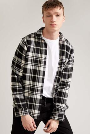 Defacto Regular Fit Uzun Kollu Gömlek Ceket 0