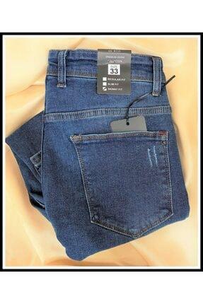 JEAN'S WEAR Erkek Kot Skınny Yeşil Yıkamalı Lazer Tırnaklı Jeans 1