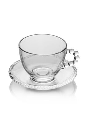 EWs 6 Lı Gırona Cam Çay Fincan Takımı 1