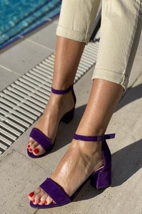 İnan Ayakkabı Baan Tek Bant Bilekli Topuklu Ayakkabı 0