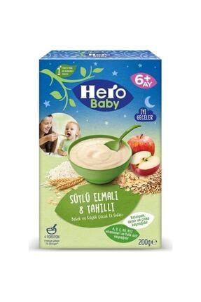 Hero Baby Gece Sütlü Elmalı 8 Tahıllı 200 gr 0