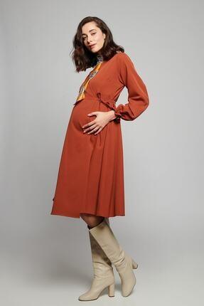 Lyn Mama Hamile Sarah Elbise - Kiremit 2