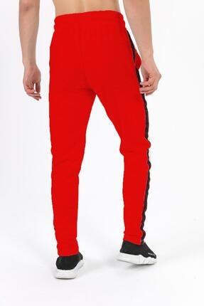 Fabregas Erkek Kırmızı  Şeritli Eşofman Altı 1