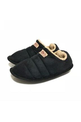 LOKER Unisex Siyah Ev Ayakkabısı 1