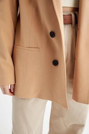 Defacto Fleto Cepli Oversize Blazer Ceket 2