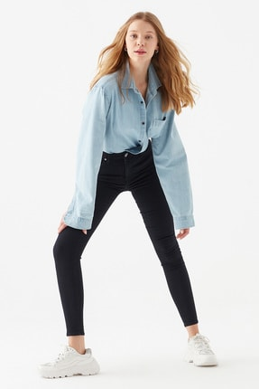 Mavi Kadın Tess Gold Lux Jean Pantolon 100328-32533 1
