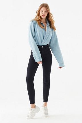 Mavi Kadın Tess Gold Lux Jean Pantolon 100328-32533 2