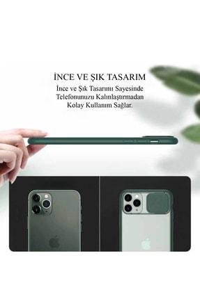 KZY İletişim Samsung Galaxy A71 Uyumlu Kapak Lensi Açılır Kapanır Kamera Korumalı Silikon Kılıf 2