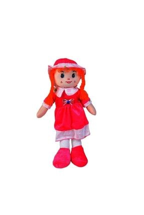 HAK İŞ OYUNCAK Kadife Elbiseli Renkli Bez Bebek 50 Cm 0
