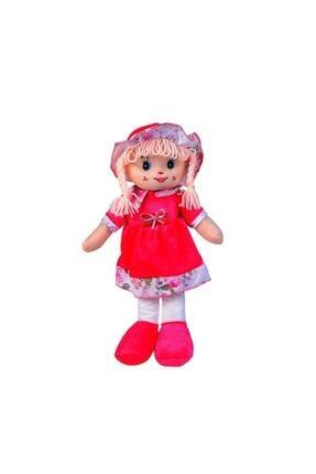 HAK İŞ OYUNCAK Kadife Elbiseli Renkli Bez Bebek 50 Cm 2