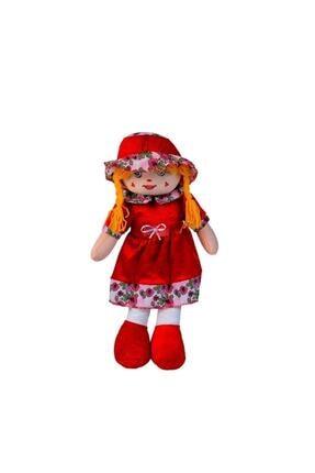 HAK İŞ OYUNCAK Kadife Elbiseli Renkli Bez Bebek 50 Cm 3