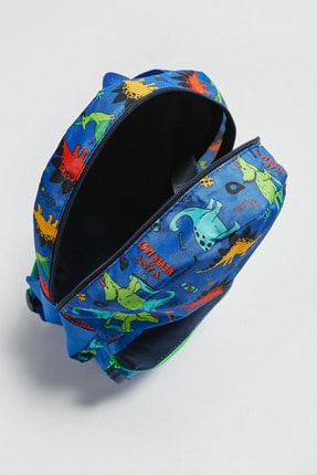 LC Waikiki Erkek Çocuk Canlı Mavi K6M Sırt Çantası 2