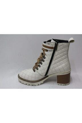 Cassido Kadın Beyaz Topuklu Bot 1