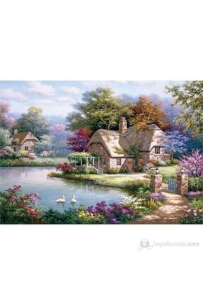 Anatolian Puzzle Kuğular Ve Kır Evi / The Swan Cottage Ana.4529 1500 Pcs 1