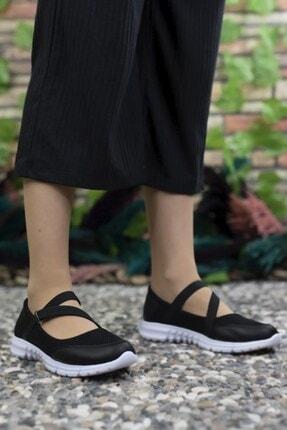 Riccon Kadın Siyah Beyaz Casual Ayakkabı 0012601 1