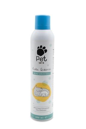 Pet Love Kokulu Beyaz Sabun Pet Koku Giderici 300 ml 0
