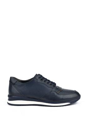 Picture of , Erkek Hakiki Deri Sneaker 111415 455109 Lacıvert