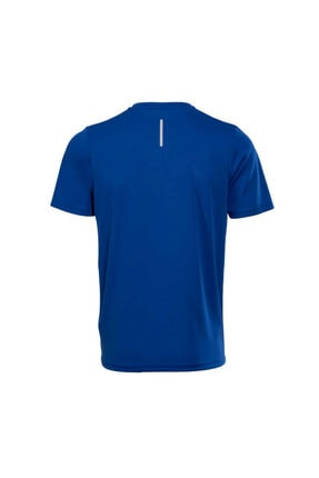 New Balance Erkek Mavi Logo T-shirt - Nbtm008-blu 1