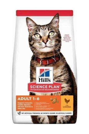 Hills Science Plan Tavuk Etli Yetişkin Kedi Maması 3 kg 0