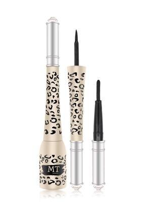 Makeuptime Leopar Desenli Likit+eyeliner 0