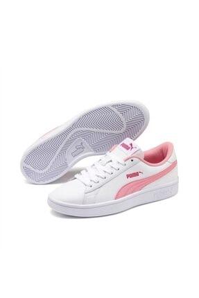 Puma Kadın Beyaz Spor Smash V2 L Jr Ayakkabı 36517002 2