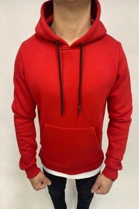Erkek Sweatshirt kırmızı sweatshirt