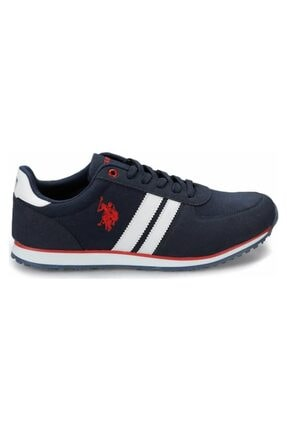 US Polo Assn PLUS 1FX Lacivert Erkek Sneaker Ayakkabı 100910647 1