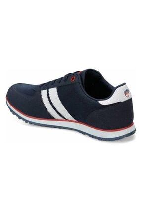 US Polo Assn PLUS 1FX Lacivert Erkek Sneaker Ayakkabı 100910647 2