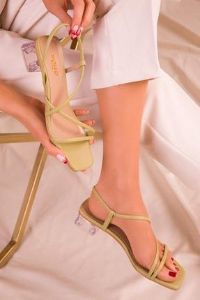 Soho Exclusive Yeşil Kadın Klasik Topuklu Ayakkabı 15822 1