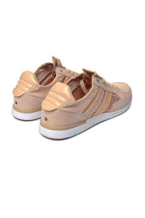 Tommy Hilfiger Kadın Pembe Metalik Light Sneaker FW0FW02996 3