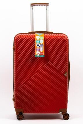 Abs Büyük Boy Kırmızı Valiz A1007 a1007-buyuk-kirmizi