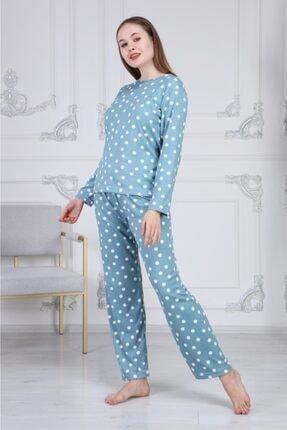 Comfylla Puantiyeli Termal Pijama Takımı 3