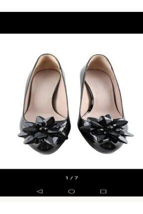 Kadın Siyah Topuklu Ayakkabisi 120130008696
