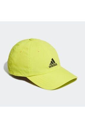 adidas GJ8312 Aeroready Erkek Şapka Sarı 1