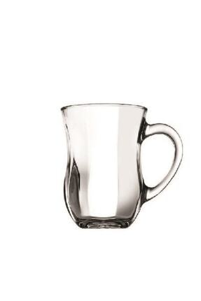 Paşabahçe 55373 Dem Kulplu Kahvaltı Keyif Çay Bardağı 140 Cc 6'lı 2