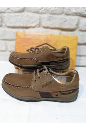 Erkek Kahverengi Beta Bağcıklı Ayakkabı M2020NK1