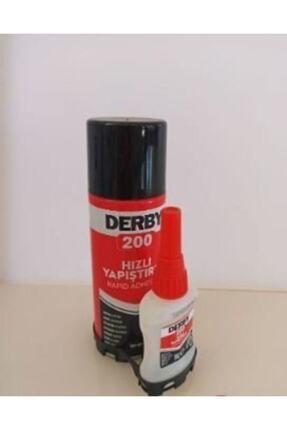 Derby Hızlı Yapıştırıcı 200 Ml+35 gr 0