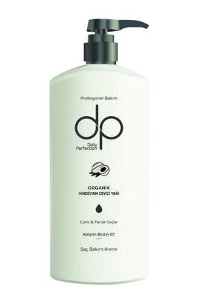 DP Organik Hindistan Cevizi Yağı Profesyonel Keratin Biotin Saç Bakım Kremi 500 ml 0