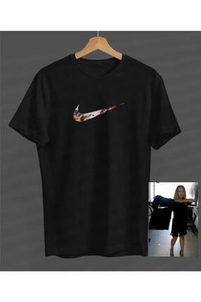 NVM Tekstil Özel Çalışma Baskı Siyah Yuvarlak Yaka T-shirt 0