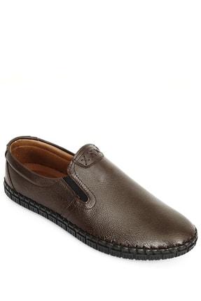 GÖNDERİ(R) Hakiki Deri Kahve Antik Erkek Günlük (Casual) Ayakkabı 01210 3