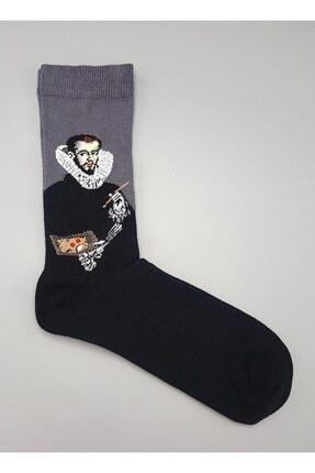 تصویر از Art - El Greco Unisex Çorap