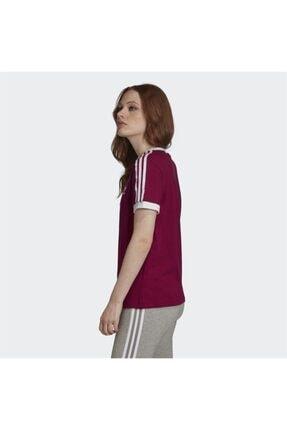 adidas Kadın Bordo Spor T-shirt 2