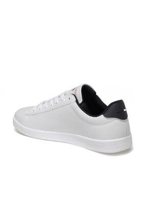 US Polo Assn FRANCO 1FX Beyaz Erkek Sneaker Ayakkabı 100910268 2