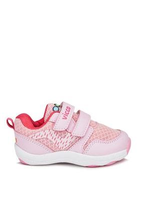 Vicco Dna Kız Bebe Pembe Spor Ayakkabı 2