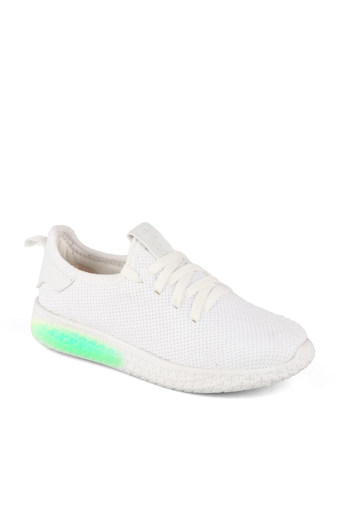 Vicco X Unisex Çocuk Beyaz Spor Ayakkabı